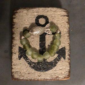 Jewelry - Artisan SEA GLASS bracelet